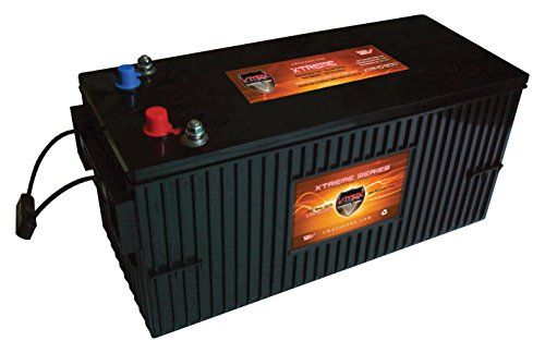 VMAX XTR4D-200 4D 12V 200ah AGM SLA Xtreme Marine Battery for boats and -