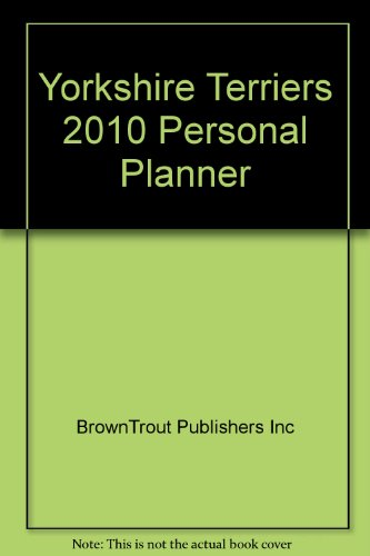 Yorkshire Terriers 2010 Personal Planner