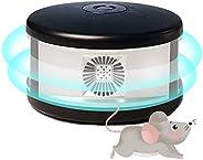 Queenser Repelente de animais Ultrassônico Ratos Repelentes de dissuasão Repelente de roedores Moles do rato R