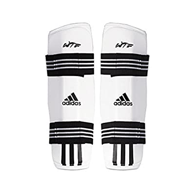 Adidas Taekwondo Shin Protector Shin Gear Guard TKD WTF Approved S to XL (1.S(4.39-4.98ft)(134-152cm))
