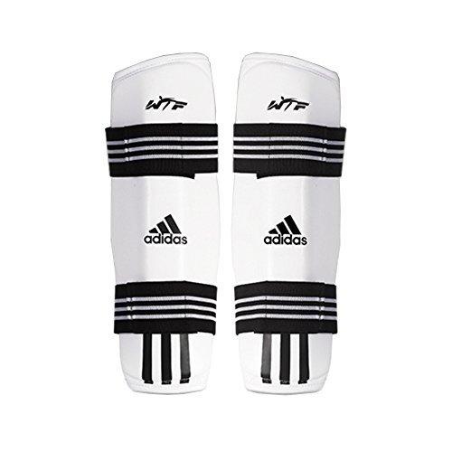 Adidas Taekwondo Shin Protector Shin Gear Guard TKD WTF Approved S to XL (3.L(5.58-6.17ft)(170-188cm))