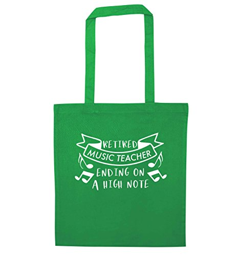 a on Bag note Flox Creative Tote Retired Green ending high teacher music Z76q80Rgqw
