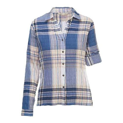 エッセンス電信おっと(ウールリッチ) Woolrich レディース トップス ブラウス?シャツ Eco Rich Carabelle Convertible Shirt [並行輸入品]