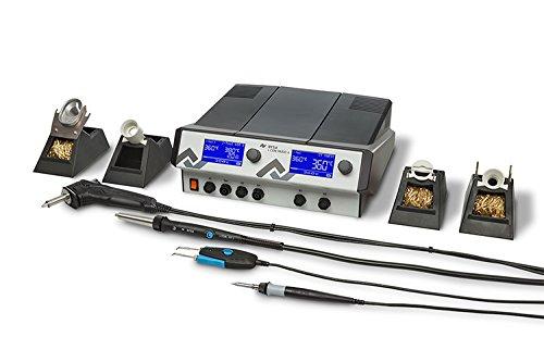 Ersa i-Con Vario4 ESD 4 Kanal Löt und Heißluftstation mit Vakuum, i-Tool, Chip-Toolvario, X-Toolvario, Air-Tool S, 0ICV4000AICXV