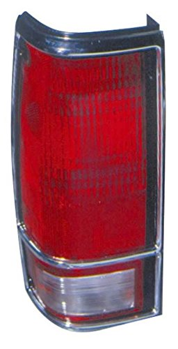 Taillight Taillamp Driver Side Left LH for 83-94 Chevy S-10 Blazer S-15 Jimmy