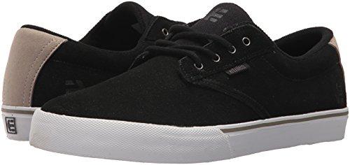 etnies Hombre Patines Chuh Jameson Vulc skateschuhe, Negro/Blanco/Plateado, 5.5 negro/blanco/plateado