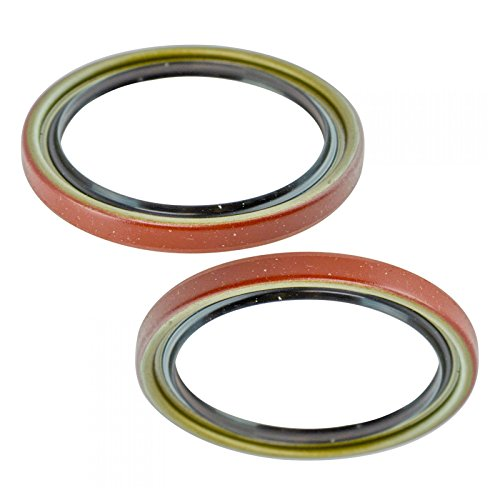 Front Driver & Passenger Side Wheel Seal Pair for Chevy Buick (Gmc Sonoma Wheel Seal)
