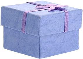 nuolux anillos caja de regalo joyas cajas terciopelo