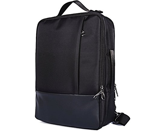 2.5 Ghz Notebook (Premium Backpack Briefcase Messenger Bag for Dell Alienware 15 / Acer predator 21 X / predator 15 / Triton 700 / Helios 300 / Samsung Galaxy Notebook 9 Pro 15 /Notebook 7 spin 15.6 Laptop (Black))