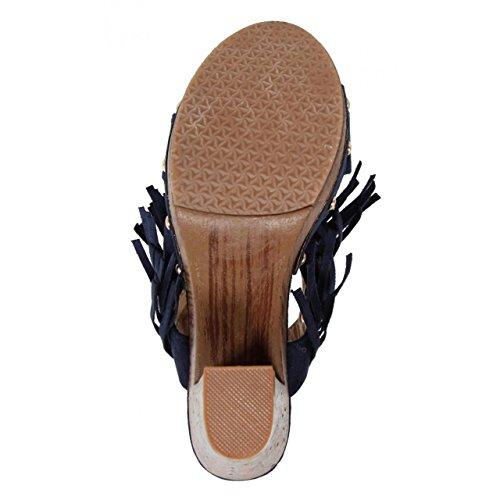 Zapatos de tacón de Mujer URBAN C6068 AZUL