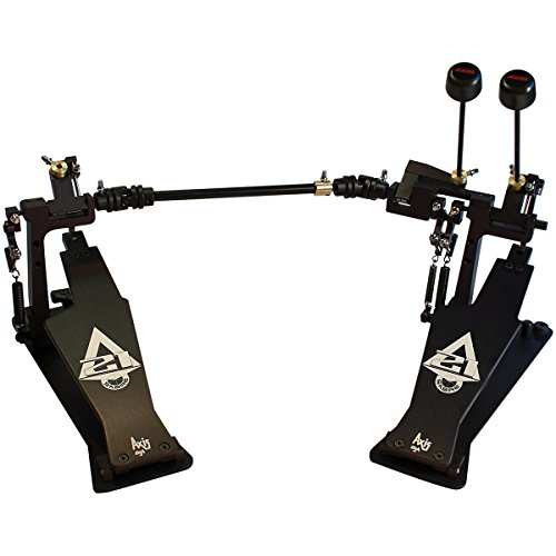 Axis Sabre A21 Double Bass Drum Pedal with Microtune Spring Tensioner Classic Black