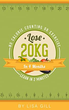 how to lose 20kg weight in 1 month without exercise