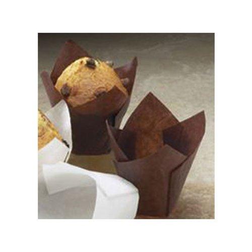 Brown Tulip Cupcake Liners, 100 ct.