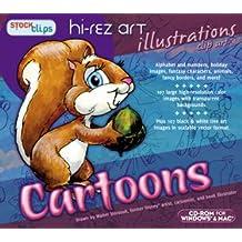 Hi-Rez Illustrations: Cartoons
