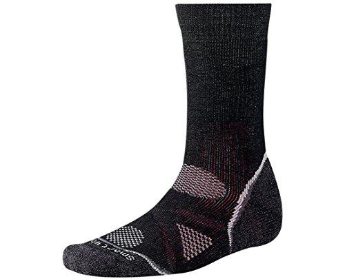 Smartwool Mens Hiker (Smartwool Men's PhD Outdoor Heavy Crew Socks (Black) Small - Past Season)