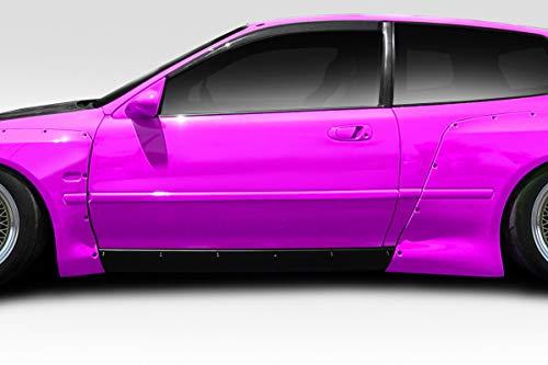 Vaero Duraflex Replacement for 1992-1995 Honda Civic HB TKO RBS Wide Body Side Skirts Rocker Panels - 2 - Skirts Hb Side