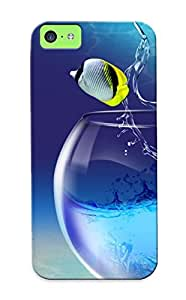 [wnqvor-647-ieiicpx]premium Phone Case For Iphone 5c/ Fishy Life Tpu Case Cover(best Gift Choice)