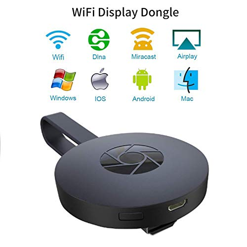 - YEHUA WiFi Wireless Display Dongle 1080P Mini Receiver Sharing HD Video from Projectors Cell Phones Tablet PC Support Airplay Miracast DLAN Dongle