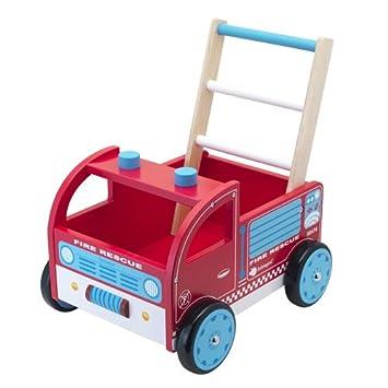 itsImagical Natural Auto-Pasitos, carrito de madera (Imaginarium 76597): Amazon.es: Juguetes y juegos