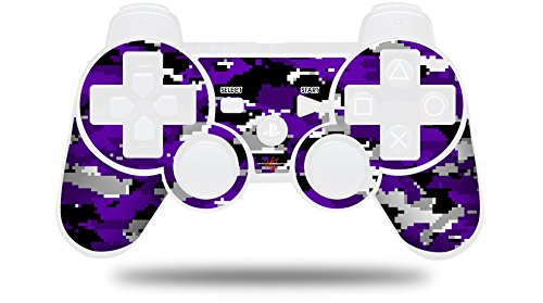 WraptorCamo Digital Camo Purple - Decal Style Skin fits Sony PS3 Controller (CONTROLLER NOT INCLUDED)