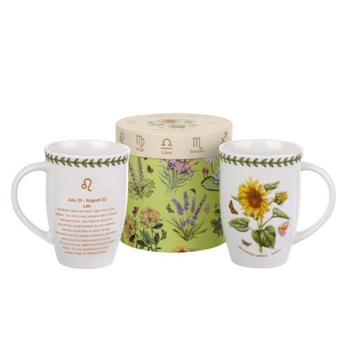 (Zodiac 12.6 oz. Leo/Sunflower Mug)