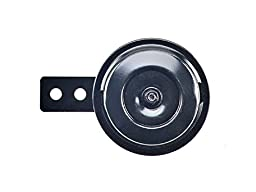 Wolo (260-2T) Mini But Loud Disc Horn - 12 Volt, Black Finish