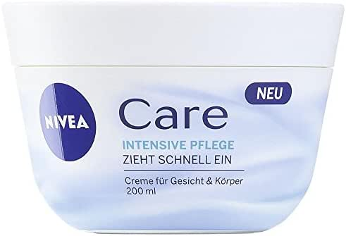Nivea Care Intensive cream for face, body and hands 200 ml