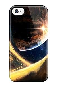 Jairo Guzman's Shop Best 3889841K68049751 Iphone 4/4s Case Cover - Slim Fit Tpu Protector Shock Absorbent Case (planet's Conflict)
