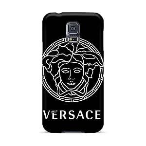 Anti-Scratch Hard Phone Case For Samsung Galaxy S5 (hRp704SACK) Provide Private Custom Realistic Versace Skin