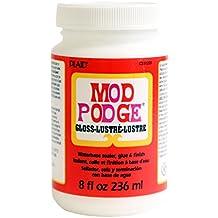 Mod Podge Waterbase Sealer, Glue and Finish (8-Ounce), CS11201 Gloss Finish