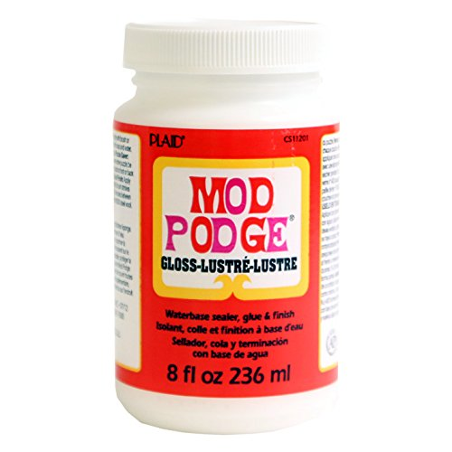 Mod Podge Waterbase Sealer, Glue and Finish (8-Ounce), CS11201 Gloss Finish (Mod Swing Coat)