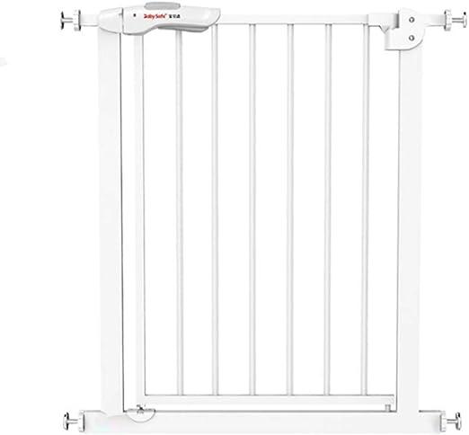 Ancho de la Puerta de Seguridad para niños 80-90 cm Escalera Puerta de la Cerca de Seguridad sin perforar Función de Cierre automático (Blanco) (Tamaño : Wall mounting Method): Amazon.es: Hogar