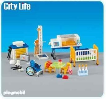Playmobil Add-On Series - Childrens Medical Area