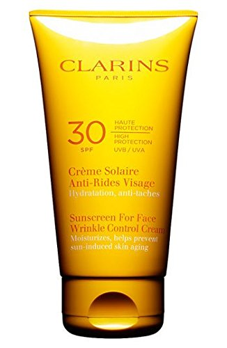 how to orders latest style of 2019 hot-selling cheap Clarins Sunscreen for Face Wrinkle Control Cream SPF 30