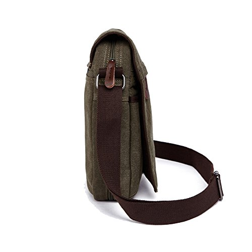 Women Crossbody Nylon Green Purse handbags for Shoulder Bag ENKNIGHT Travel Army 4HXPwqP