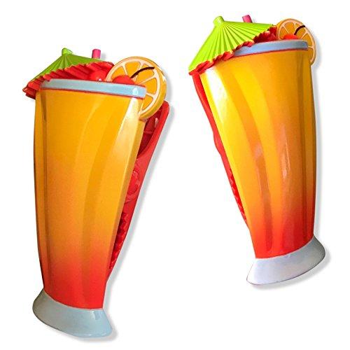 O2COOL BCP37 Caribbean Cocktail Boca Towel Clip