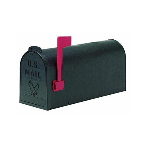 (Flambeau T-R4501BL Standard Classic Mailbox, Rural Style, #1, Black )