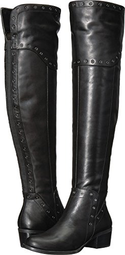 Vince Camuto Women's BESTAN Over The Knee Boot, Black, 7.5 Medium US from Vince Camuto