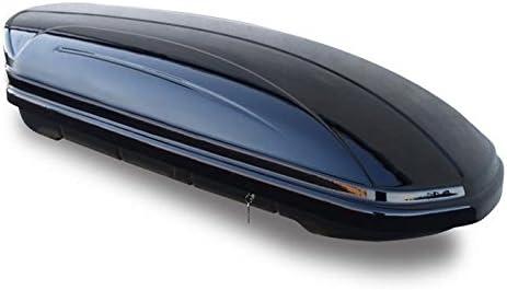 Dachtr/äger Menabo Tema kompatibel mit Opel Grandland X SUV 5 T/ürer Dachbox VDPMAA320 abschlie/ßbar schwarz 320 Ltr ab 2017 Stahl