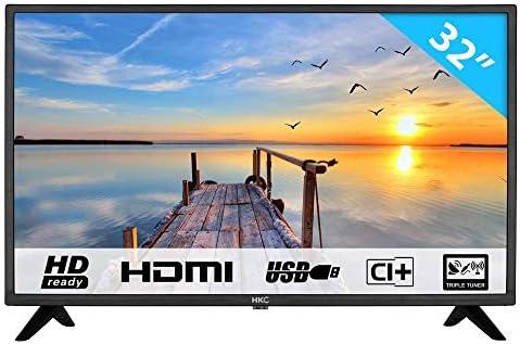 HKC 50F2 TV (50 Pulgadas Full-HD TV DVB-T/T2/S/S2/C): Amazon.es ...