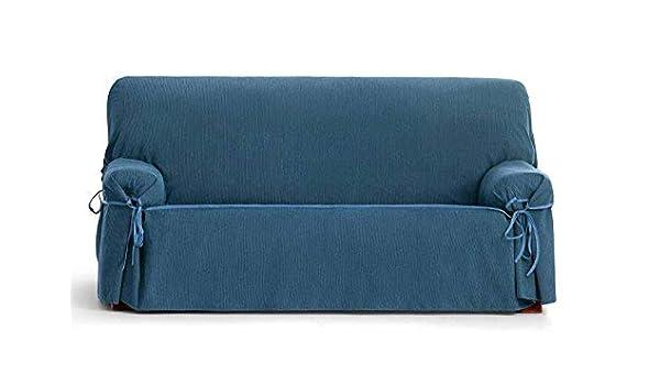 Jarrous Funda de Sofá Universal Modelo Cordoba, Color Azul-03, Medida 2 Plazas
