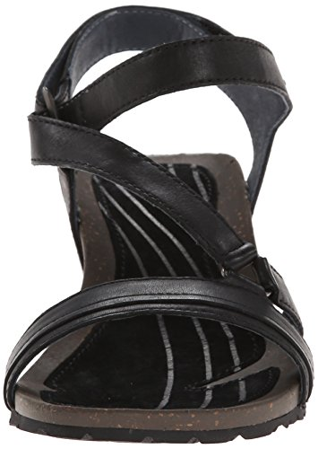 Cabrillo Crossover Sandal Black Woman Teva Wedge TAaAq