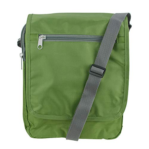 Travelon Triplogic AntiTheft RFID Blocking Slim Travel Luggage CrossBody Day Bag (Olive) from Travelon