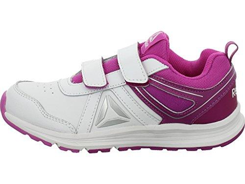 Reebok Almotio 3.0 2v - Zapatillas de running Niños Morado (Aubergine / White / Vicious Violet / Silver)