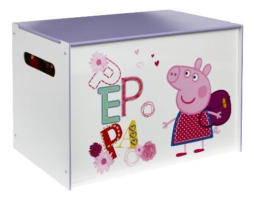 Peppa Pig Juguetero, Madera, Rosa, 39.50×59.50×39.50 cm