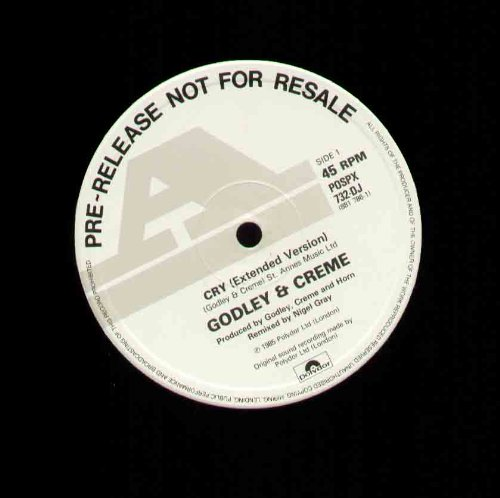 GODLEY AND CR?ME - CRY - 12 inch vinyl ()