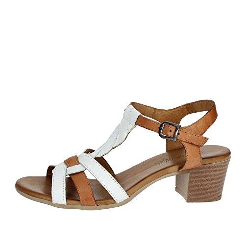 Women 003 Sandal Soft White IBI1830 Cinzia 4awRgx