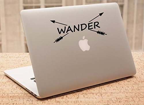Decal - Wander - Crossbows Decal, Car Decal, Laptop Decal, Macbook Decal, Ipad Decal (3