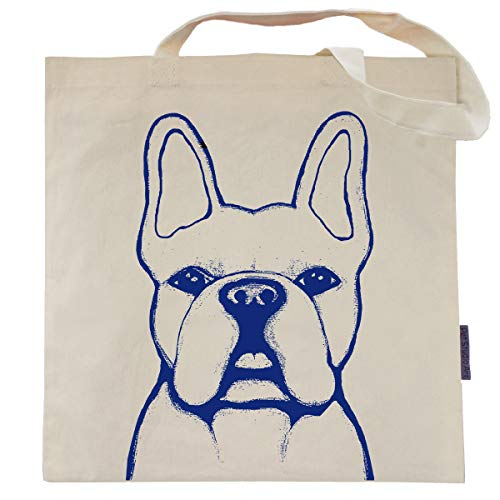 (French Bulldog Tote Bag - Benny the Frenchie - by Pet Studio Art)