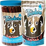 Plato Thinkers Wild Alaskan Salmon Sticks Dog Treats